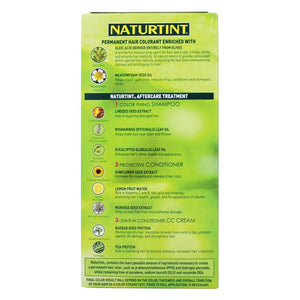 Back of package with additional information for Naturtint 4N Natural Chestnut