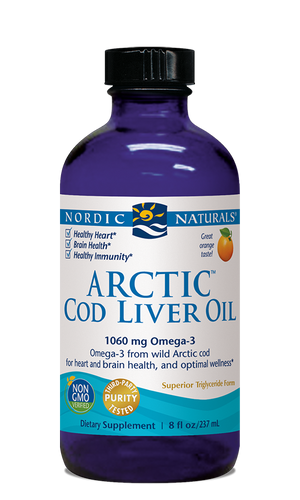 Arctic Cod Liver Oil Orange