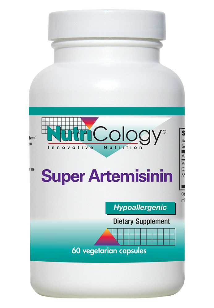 A bottle of NutriCology Super Artemisinin
