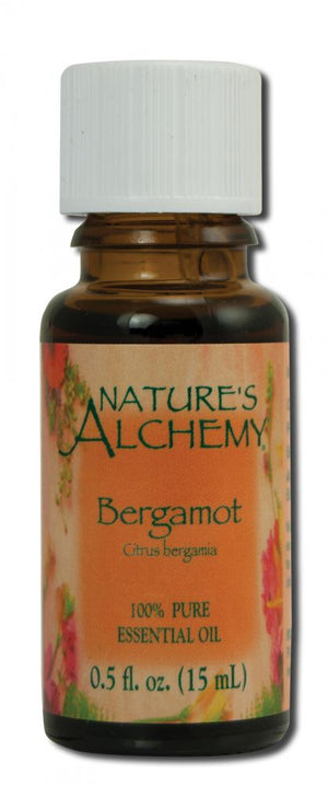 Essential Oil Bergamot .5 oz - Nature's Alchemy