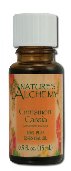 Essential Oil Cinnamon Cassia .5 oz - Nature's Alchemy