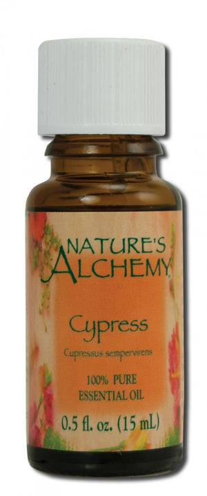 Essential Oil Cypress .5 oz - Nature's Alchemy