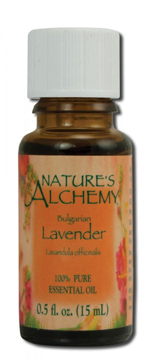 Essential Oil Lavender Bulgarian .5 oz - Nature's Alchemy