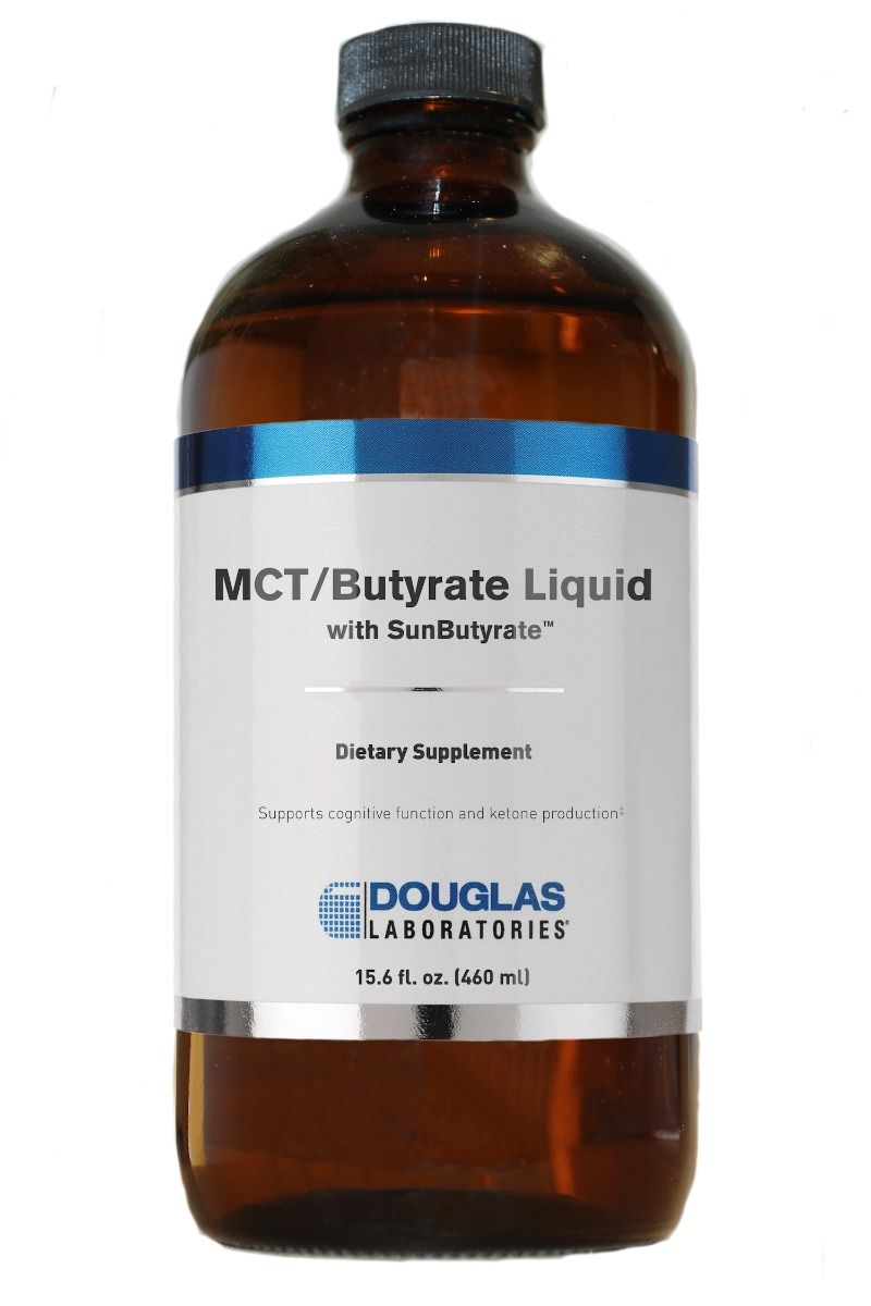 MCT/Butyrate Liquid with SunButyrate™ - Douglas Labs - 15.6 fl oz