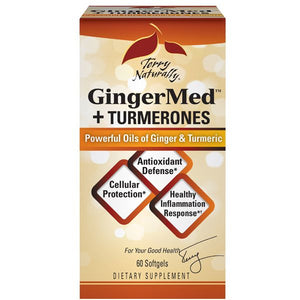 A box of Terry Naturally GingerMed™+Turmerones