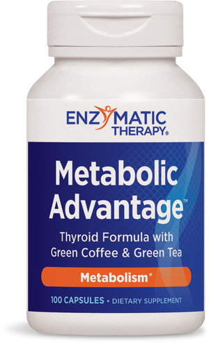A bottle of Enzymatic Therapy Metabolic Advantage™