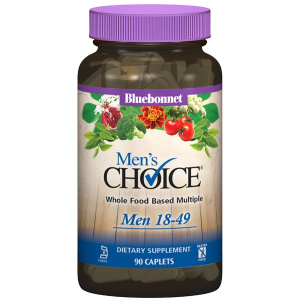 A bottle of Bluebonnet Men's Choice® Multivitamin