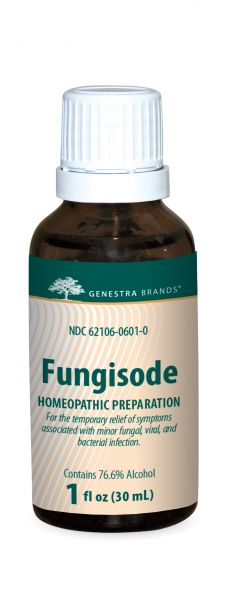 A bottle of Genestra Brands Fungisode