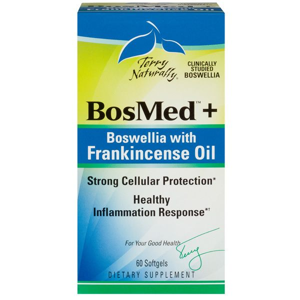 A package of Terry Naturally BosMed® + Boswellia With Frankincense Oil