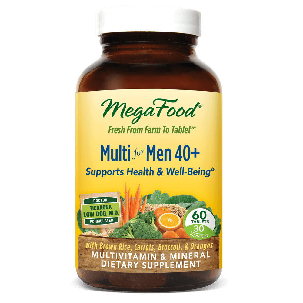 A bottle of Megafood Multi for Men 40+