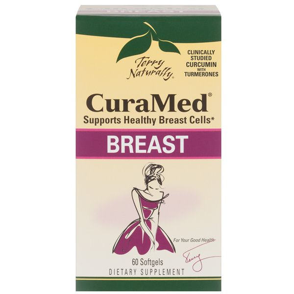 A package of Terry Naturally CuraMed® Breast
