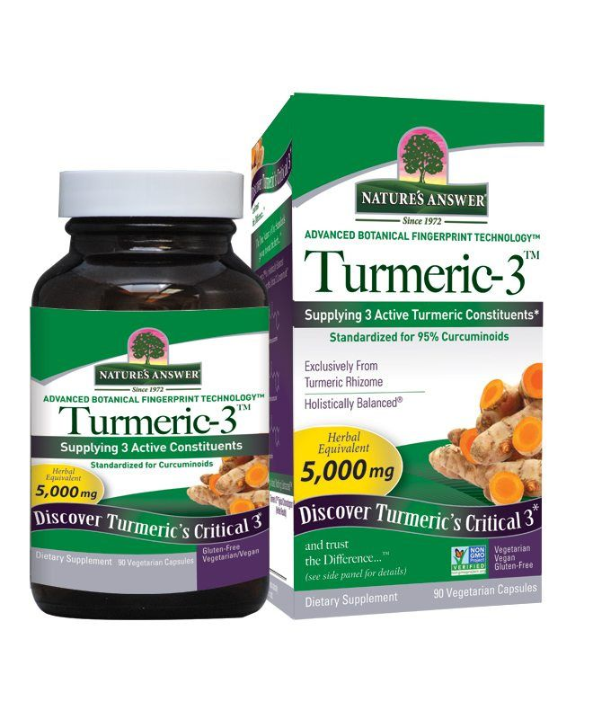 A jar and package for Nature's Answer Turmeric-3