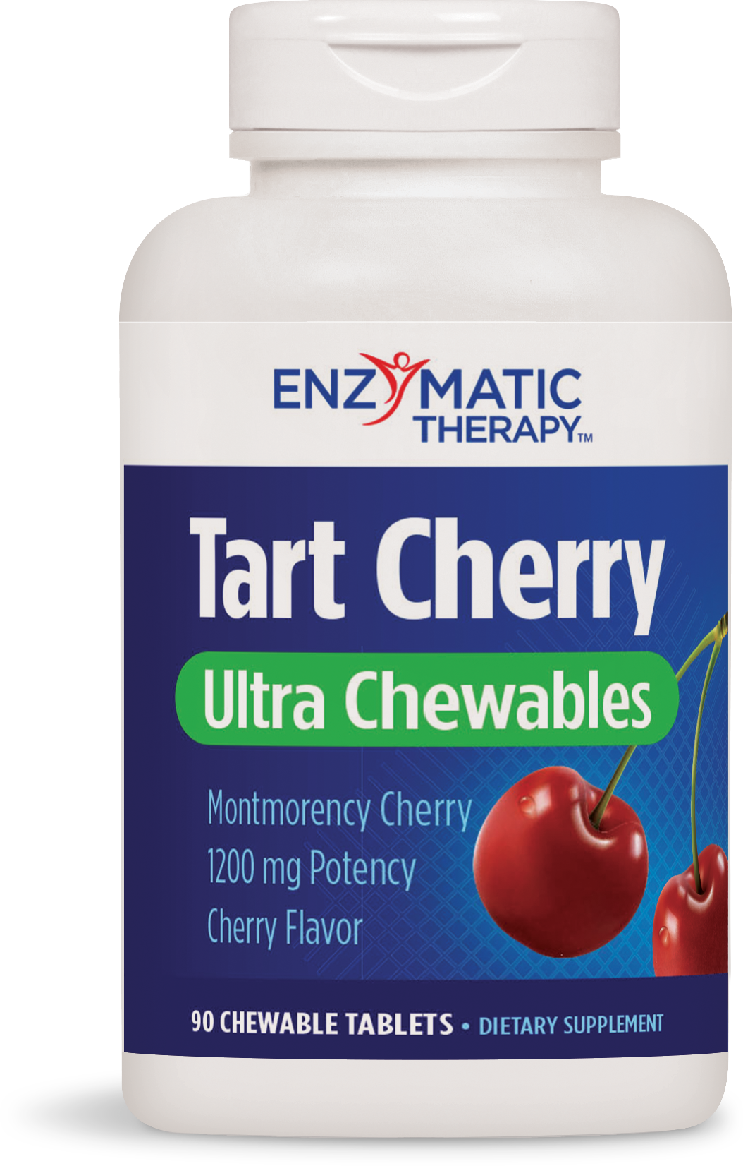 A bottle of Nature's Way Tart Cherry Ultra Chewables