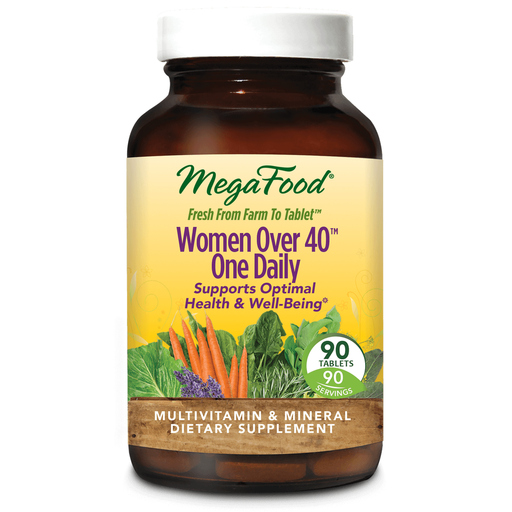 A bottle of Megafood Women Over 40™ One Daily