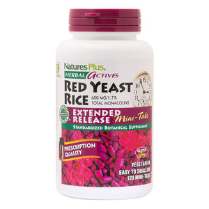 Herbal Actives Red Yeast Rice 600 mg Extended Release Mini-Tabs