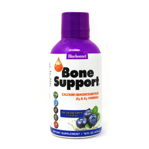 A bottle of Bluebonnet Bone Support - Blueberry Flavor