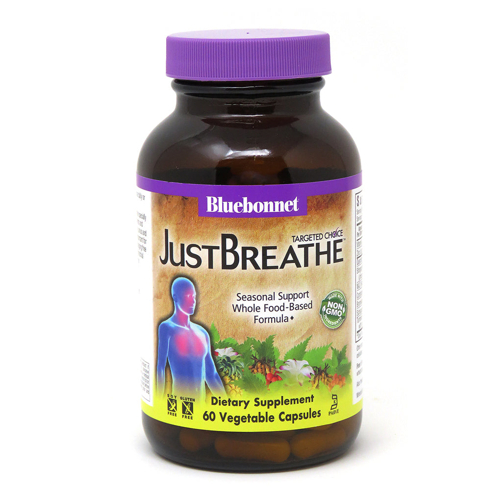 A bottle of Bluebonnet Targeted Choice JustBreathe™