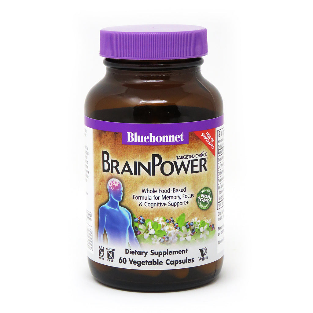 A bottle of Bluebonnet Targeted Choice BrainPower™