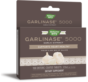 A package for Nature's Way Garlinase® 5000