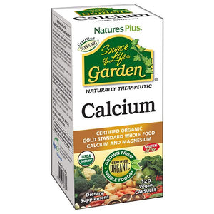 A package of Nature's Plus Source of Life Garden Calcium