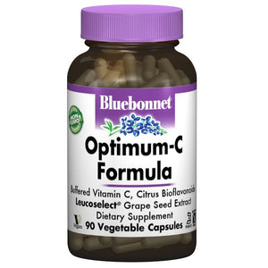 A bottle of Bluebonnet Optimum-C Formula