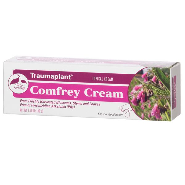 A package of Terry Naturally Traumaplant® Comfrey Cream