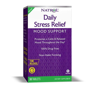 A package of Natrol® Daily Stress Relief