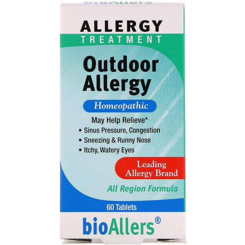 A package of bioAllers Outdoor Allergy