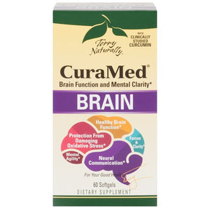 A package of Terry Naturally CuraMed® Brain