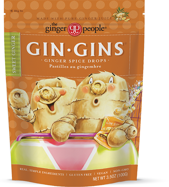 Gin Gins® Ginger Spice Drops - the Ginger People