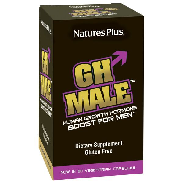A package of Nature's Plus GH Male