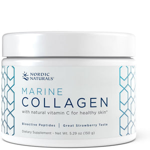 A jar of Nordic Naturals Marine Collagen