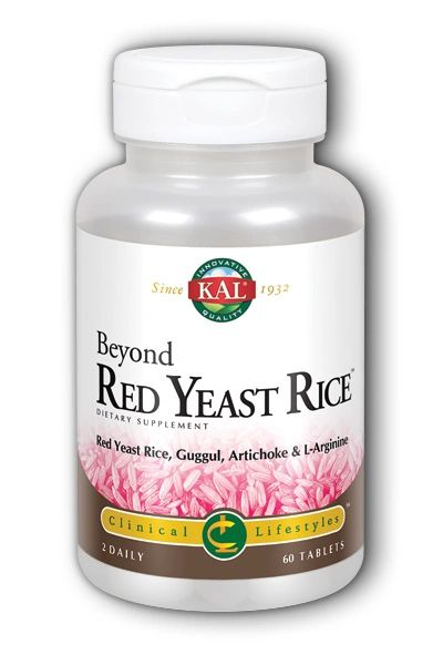 A bottle of KAL Beyond Red Yeast Rice
