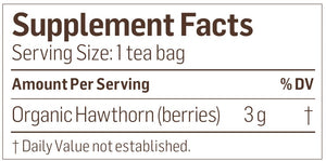 Hawthorn Berry Tea Organic