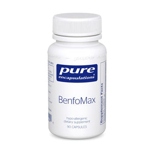 A bottle of Pure BenfoMax