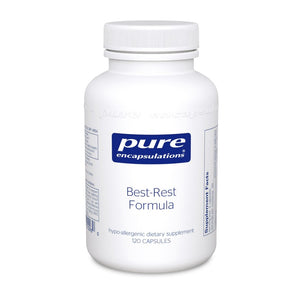 A bottle of Pure Best-Rest Formula