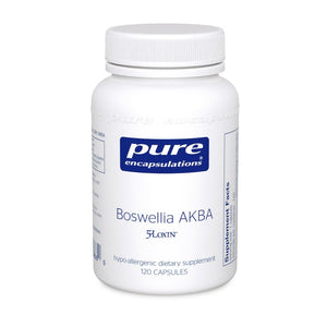 A bottle of Pure Boswellia AKBA