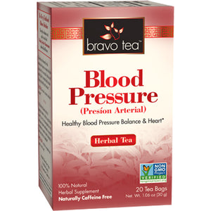 A package for Bravo Tea Blood Pressure Tea