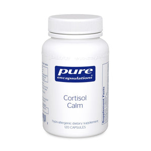 A bottle of Pure Cortisol Calm