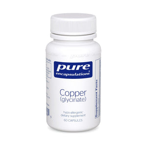 A bottle of Pure Copper (glycinate)