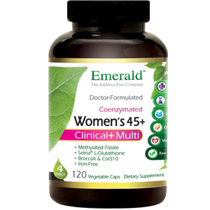 A bottle of Emerald Women's 45+ Multi