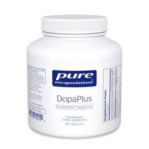 A wide bottle of Pure DopaPlus