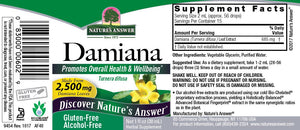 Damiana Leaves Alcohol Free Extract 1 fl oz