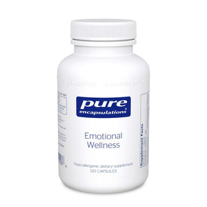 A bottle of Pure Emotional Wellness