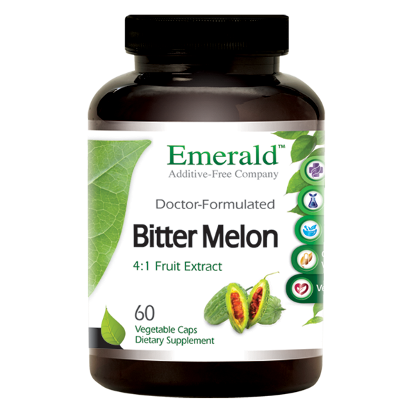 A jar of Emerald Bitter Melon