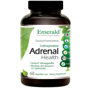 A jar for Emerald Adrenal Health