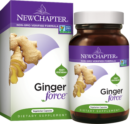 A package for New Chapter Ginger Force™