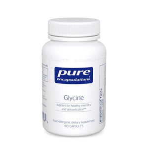 A bottle of Pure Glycine