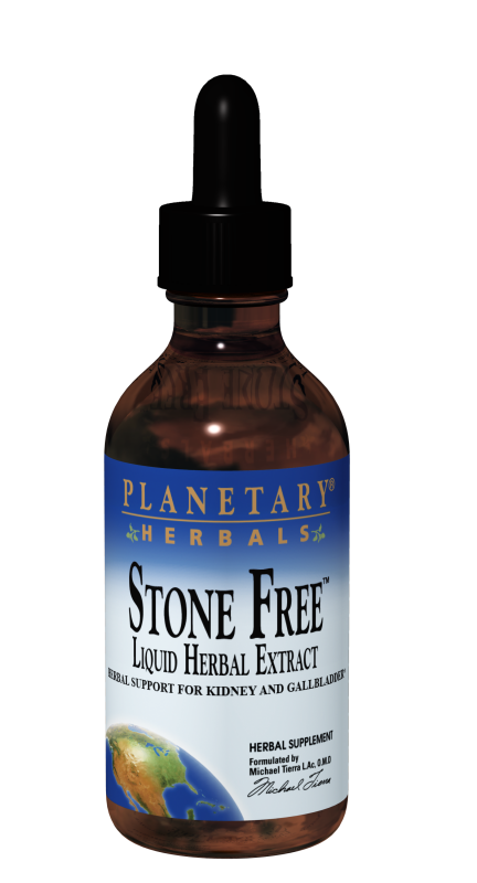 Bottle of Planetary Herbals Stone Free™ 4oz