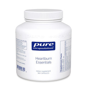 A jar of Pure Heartburn Essentials